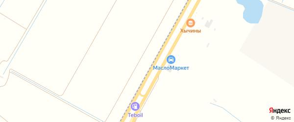 Тупиковая улица на карте садового некоммерческого товарищества Приречного с номерами домов