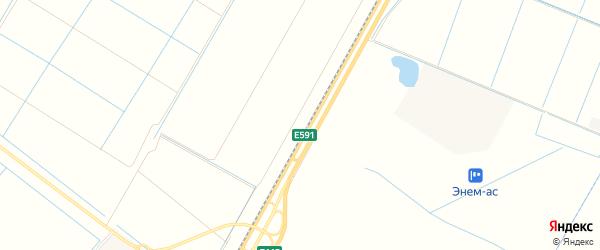 Карта садового некоммерческого товарищества Рассвета (рыбсовхоза) в Адыгее с улицами и номерами домов