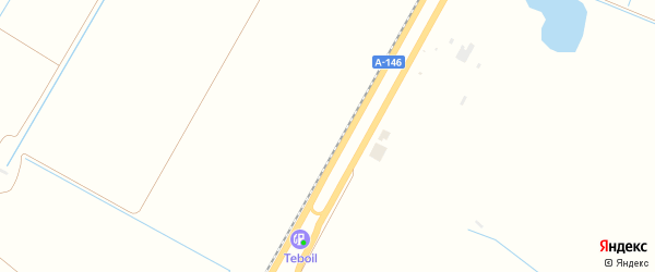 Персиковая улица на карте садового некоммерческого товарищества Приречного с номерами домов