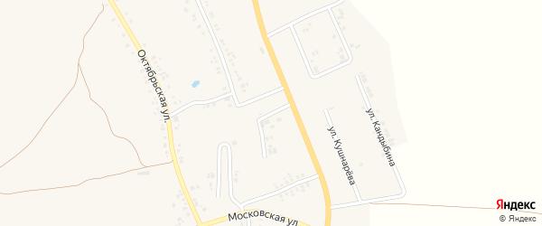 Сосновая улица на карте поселка Ровенек с номерами домов