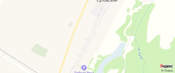 Дорога А/Д Подъезд к х. Суповский на карте Суповского хутора с номерами домов