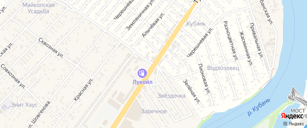 Сливовая улица на карте садового некоммерческого товарищества Восхода 2 с номерами домов