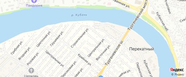 Улица 2 Линия на карте садового некоммерческого товарищества Закубанские сады с номерами домов