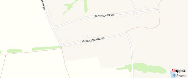 Молодежная улица на карте села Луценково с номерами домов