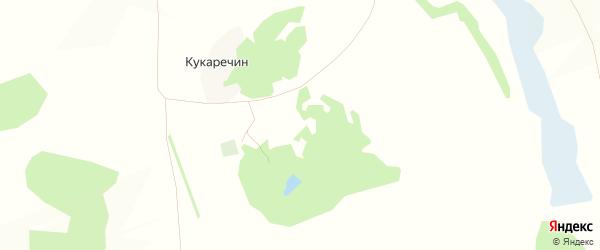 Карта хутора Кукаречина в Белгородской области с улицами и номерами домов