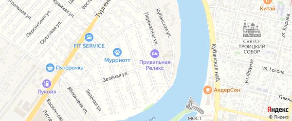 Жасминная улица на карте садового некоммерческого товарищества Дорожника с номерами домов
