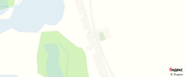 Зеленый переулок на карте поселка Хмызовки с номерами домов