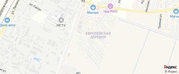 Олимпийская улица на карте аула Тахтамукая с номерами домов
