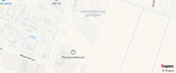 Геленджикская улица на карте аула Тахтамукая с номерами домов