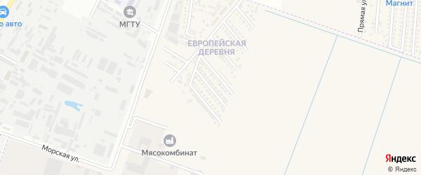 Майкопская улица на карте аула Тахтамукая с номерами домов