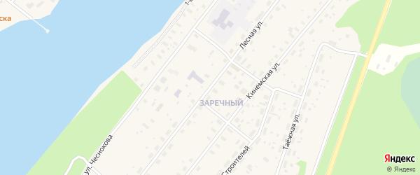Лесная улица на карте Каргополя с номерами домов