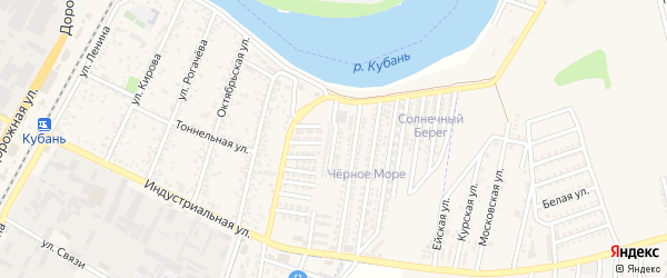 Улица им Ибрагима Салеховича Цей на карте Яблоновского поселка с номерами домов