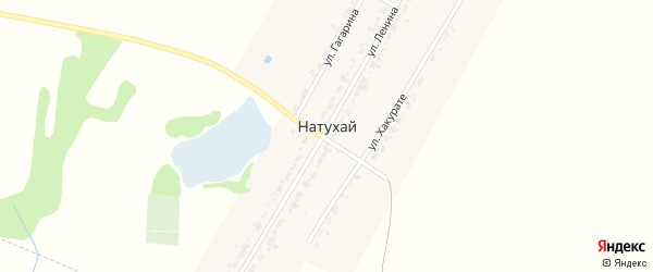 Дорога А/Д Подъезд к а. Натухай на карте аула Натухая с номерами домов