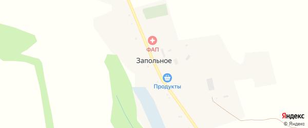 Юбилейная улица на карте Запольного села с номерами домов