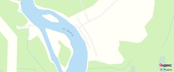 Карта поселка СОТА Мелиоратора в Архангельской области с улицами и номерами домов