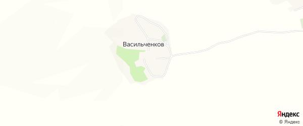 Карта хутора Васильченкова в Белгородской области с улицами и номерами домов