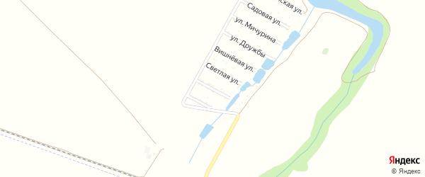 Урожайная улица на карте садового некоммерческого товарищества 40 лет СА и ВМФ с номерами домов