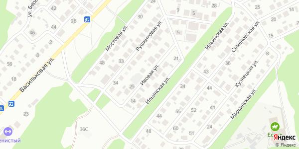 Ивовая Улица в Воронеже