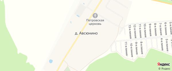 Карта поселка д/о Поречье города Звенигорода в Московской области с улицами и номерами домов
