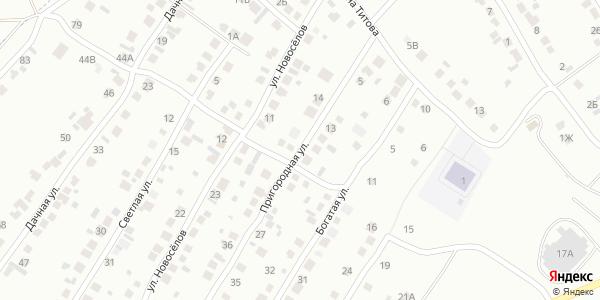 Пригородная Улица в Воронеже