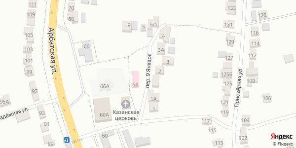 9 Января Переулок в Воронеже