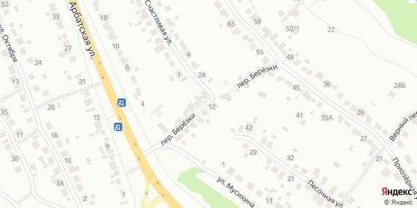 Березки Переулок в Воронеже
