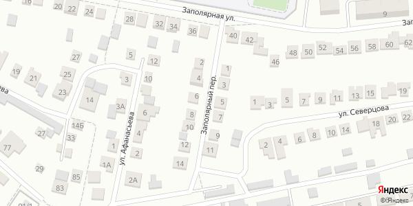 Заполярный Переулок в Воронеже