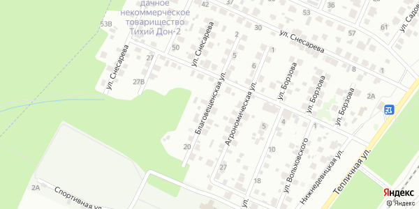 Благовещенская Улица в Воронеже