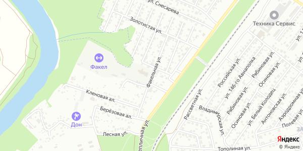 Факельная Улица в Воронеже