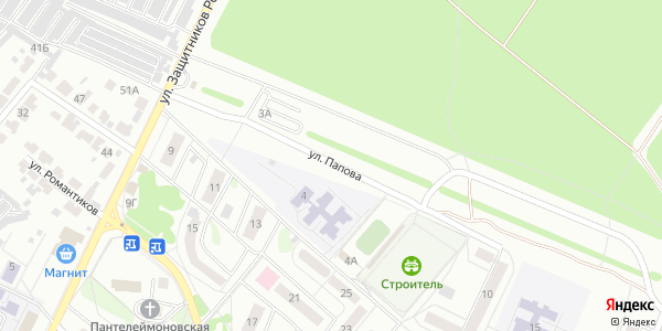 Папова Улица в Воронеже