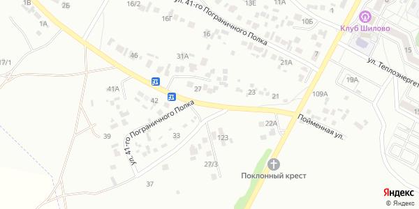 41-го Пограничного Полка Улица в Воронеже