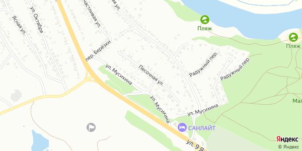 Песочная Улица в Воронеже