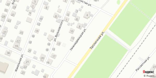 Нижнедевицкая Улица в Воронеже