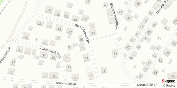 Виноградная Улица в Воронеже