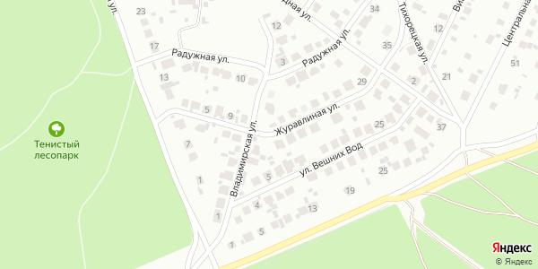 Журавлиная Улица в Воронеже