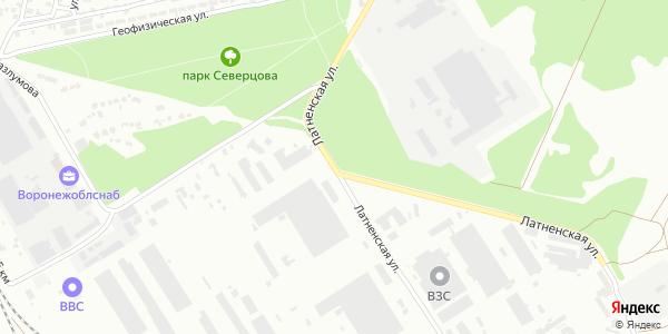 Латненская Улица в Воронеже