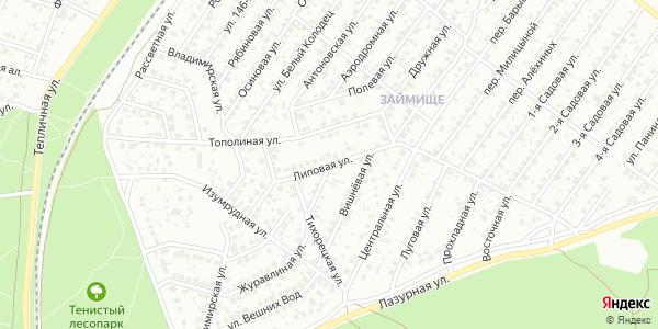 Липовая Улица в Воронеже