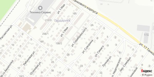 Серебрянского Улица в Воронеже