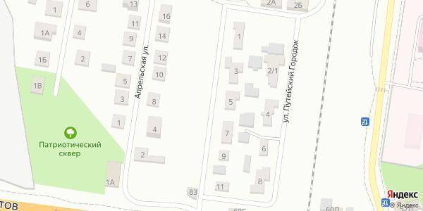Путейский городок Улица в Воронеже