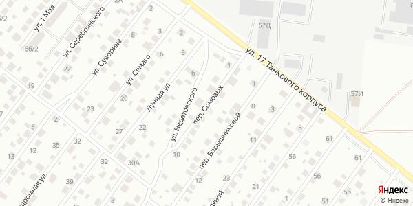 Сомовых Переулок в Воронеже