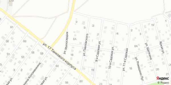 Павловского Улица в Воронеже