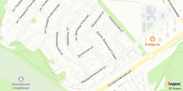 Обнинская Улица в Воронеже