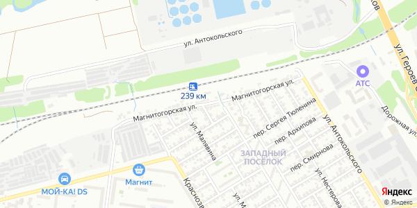 Магнитогорская Улица в Воронеже