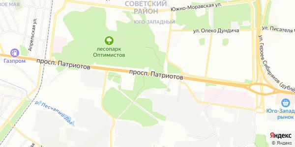 Патриотов Проспект в Воронеже