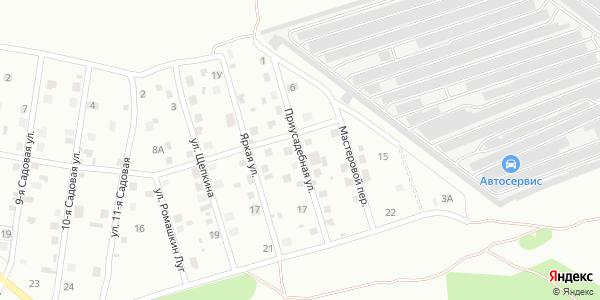 Приусадебная Улица в Воронеже