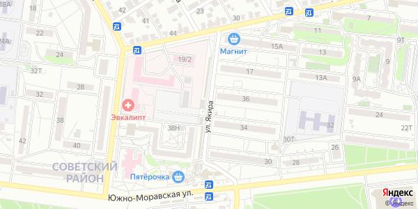 Якира Улица в Воронеже