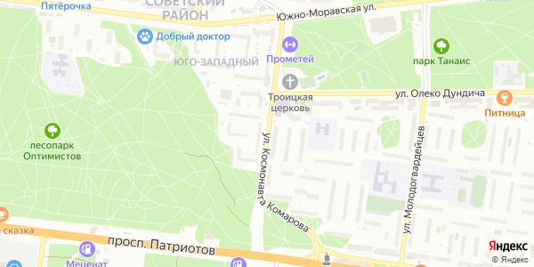 Космонавта Комарова Улица в Воронеже