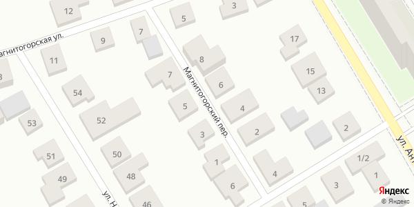 Магнитогорский Переулок в Воронеже