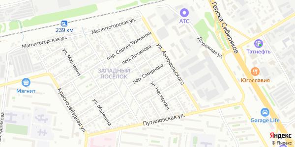 Нестерова Улица в Воронеже