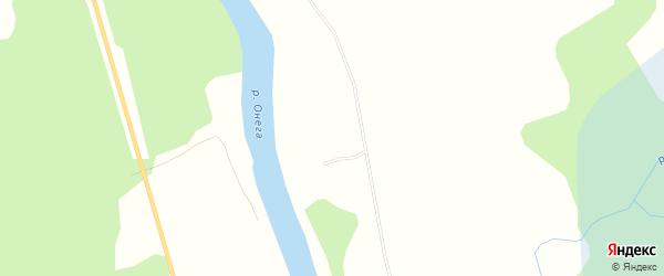 Карта Мишковской деревни в Архангельской области с улицами и номерами домов